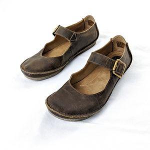 Clarks Originals Leather Faraway Fell Mary Jane